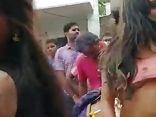 Tamil Public Nude Dance by Girls