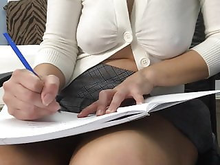 Sexy Latina in Teacher Role Play