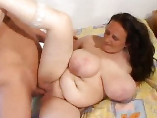 Big boobs granny sex