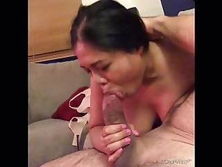 Filipina throating slut