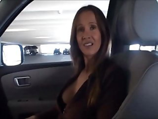Just another cuckold compilation (hotwife fucking in the car