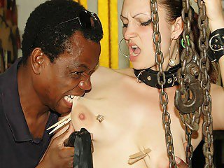 her first brutal interracial bdsm bbc fuck lesson