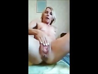 Prolapse Slut Playing with Her Rosebud