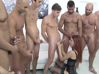 Nasty Chick Takes on 10 Dicks