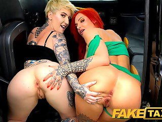Fake Taxi and a pair of filthy sluts Alexxa Vice and Pixie Peach