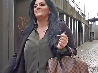 Czech street sex with beautiful milf