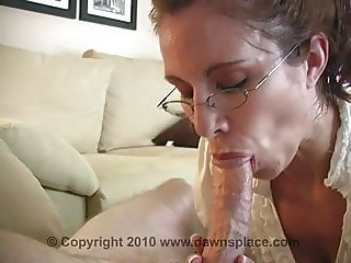 Allison hot mature blowjob and cum swallow