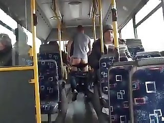 Extrime sex in bus
