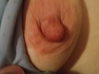 My wife mature saggy tits