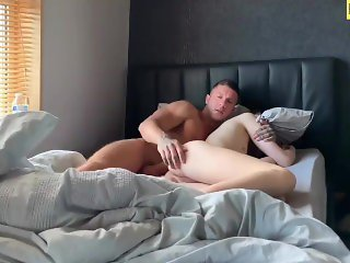 Wake-Up Quickie with Creampie