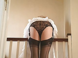 Black Lace Black Stockings