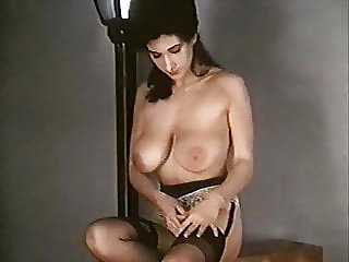 On the Brink - vintage big boobs striptease stockings