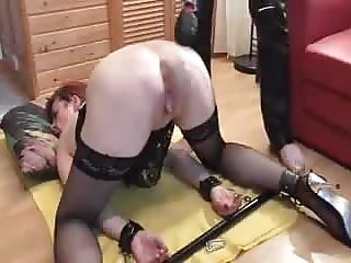 bound squirting sub fisted to massive orgasms 817367