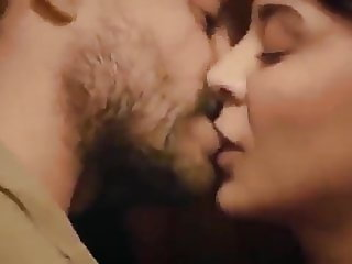 Muslim couple hot kiss