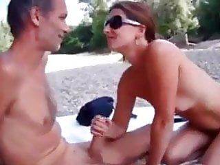 Nice nudism couple