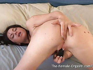 Girl Has Real Wet Contracting Pussy Female Orgasm