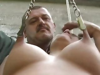 Outdoor bdsm punishment
