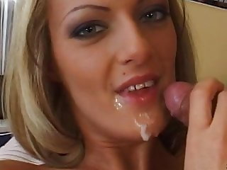 Christel Starr - Office Blowjob