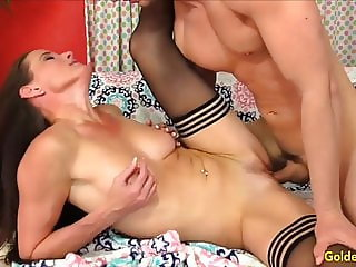 Golden Slut - Pounding Older Pussies Compilation Part 3