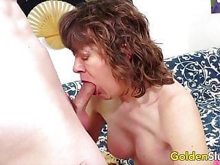 Golden Slut - Older Lady Blowjob Compilation Part 5