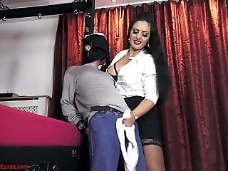 Cumshot compilation forced by beautifull Femdom Mistress