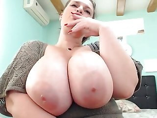 Bbw oil big tits webcam