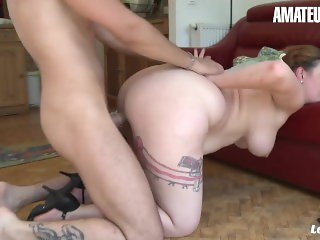 AmateurEuro - Bootylicious French Wife Cheats And Rides Neighbors Cock
