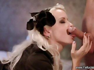 Sensual Pleasures With Oral Sex Blonde