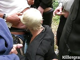 Blonde Milf Dogging