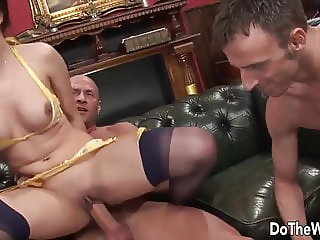 Do the Wife - Riding Cock in Front of Hubby Compilation 4