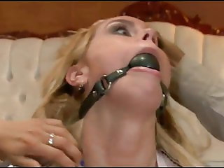 Blonde Slavegirl in Trouble