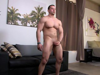 ActivDuty - Amateur Muscle Hunk's Hot Casting Session