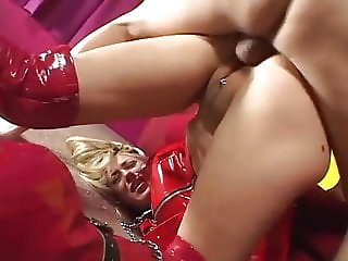 hot submissive blonde whore loves being a worthless fucktoy