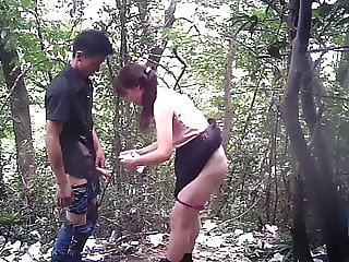 Asian Prostitute Doggy Style With Condom
