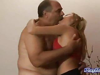 Sugar Babe Love old Man Daddy Big Cock