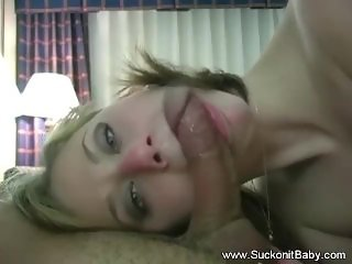 Housewife Neighbor Comes Over To Blowjob