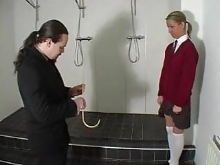 Catherine Corbett ( Shaved ) Caned Hard