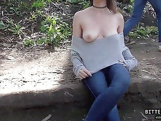 My Adventure, Tits Flashing On Public Park PT.1