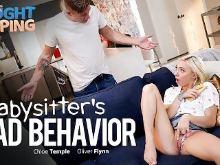 Caught Fapping - Finger Banging Babysitter Gets Creampied