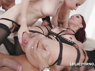 Lyna Cypher, Victoria J - Double Addicted with #Fucklight