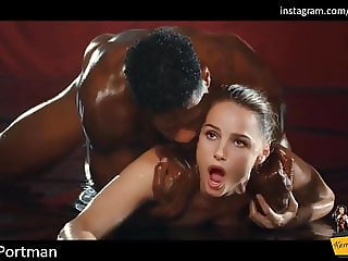Natalie Portman's Hard Interracial Gangbang Leaked Sex Tape