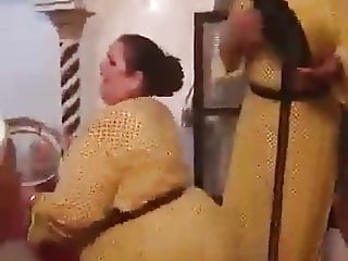 THE HUGE ASS OF A MOROCCAN DANCER