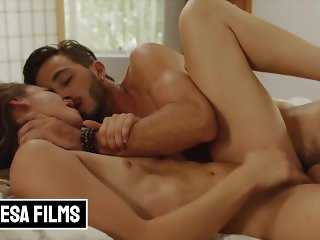 'Bellesa - Sexy Naomi Swan Plays Sex Games With Lucas Frost Cock'