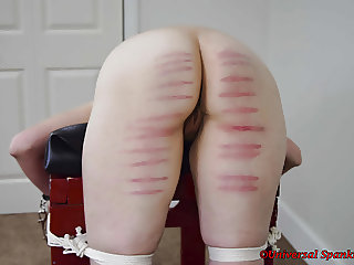 Tearful Caning and Strapping