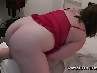 Inessa sexy french bbw fucked by her black boyfriend