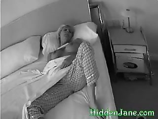 Step mom hidden masturbation