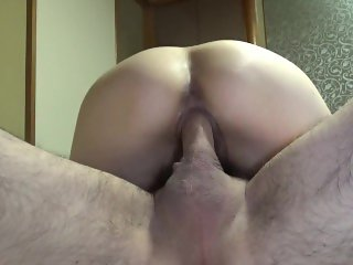 Vagina observation after breeding creampie fuck