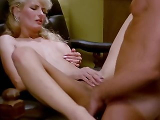 Boss Fucks Blonde Secretary After Work does Anal Creampie