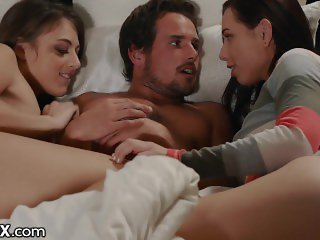 EroticaX - Surprise Threesome With Wife's Old Friend