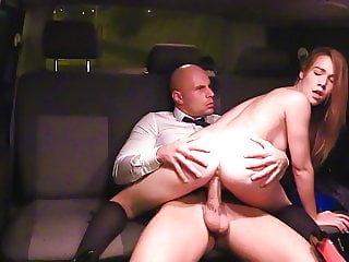 VipSexVault Hoe College Girl Alexis Crystal Has Sex On Taxi